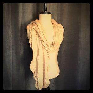 Gap ruffle trim scarf